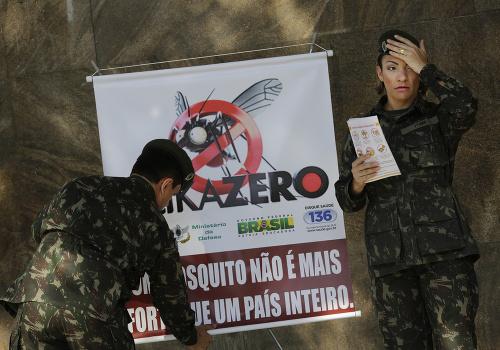 Brazília je ochromená vírusom