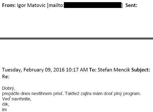 Matovič zverejnil súkromný prepis
