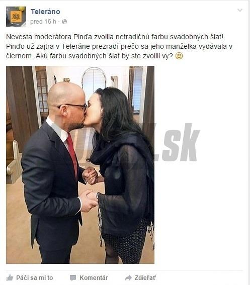 Netradičná svadba slovenského moderátora: