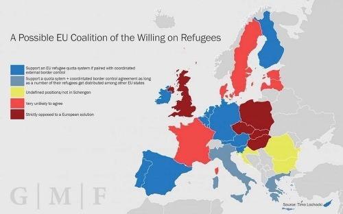 Utečenci rozdelili úniu na
