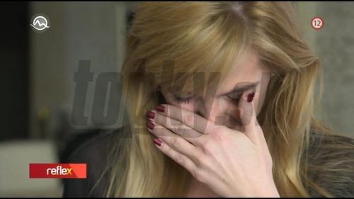 Zdrvená markizáčka: Rozplakala sa