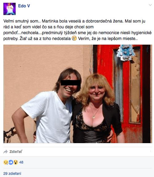 Šokujúce správy o Martinke