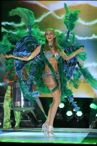Denisa Mendrejová počas voľnej disciplíny tancovala.