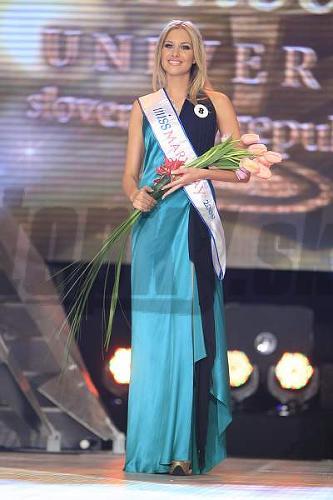 Denisa Mendrejová po zisku titulu Miss Mary Kay.