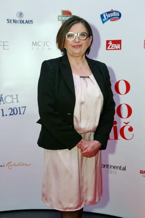Herečka Zuzana Kronerová si
