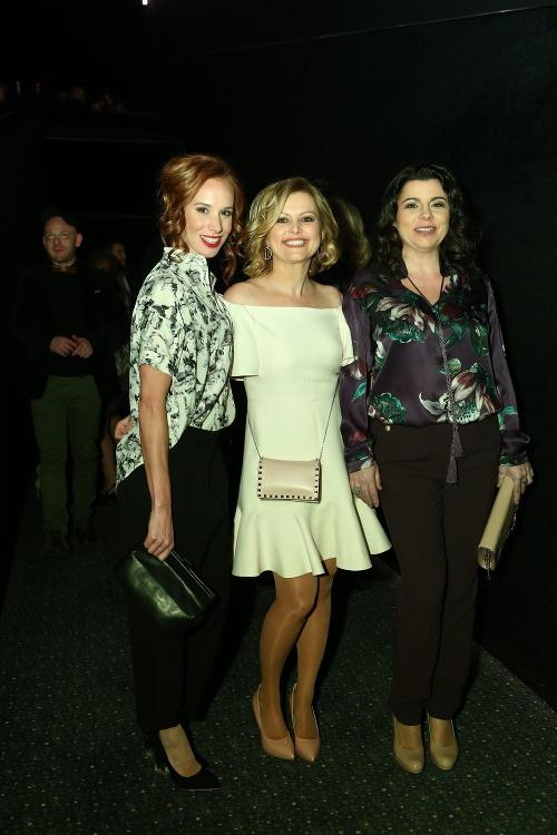 Zľava: herečka Táňa Pauhofová,