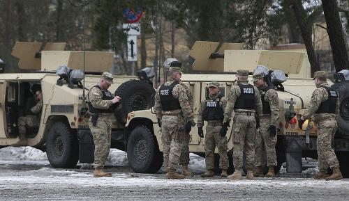Americkí vojaci v Poľsku.