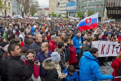 Veľký protikorupčný pochod v