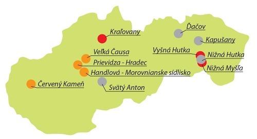 MAPA najrizikovejších oblastí Slovenska: