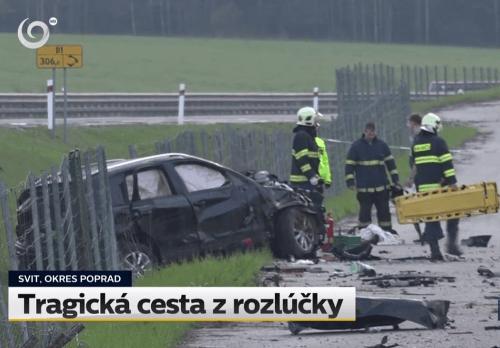 Tragická nehoda ministerského auta: