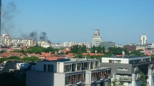 Bratislava v ohni: Horelo