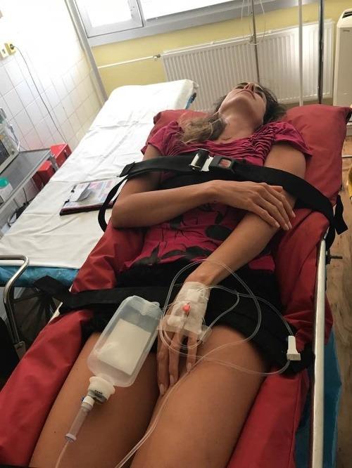 Milionárka Tkáčová v nemocnici: