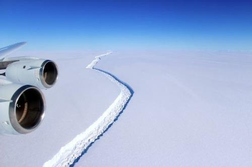 Gigantický ľadovec ako predzvesť