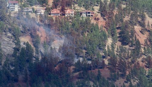 Lesné požiare v Kanade
