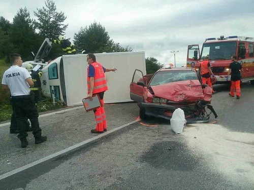 Vážna nehoda v obci