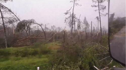 Silné búrky v Poľsku