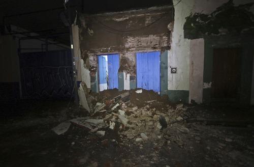 Zemetrasenie v Mexiku