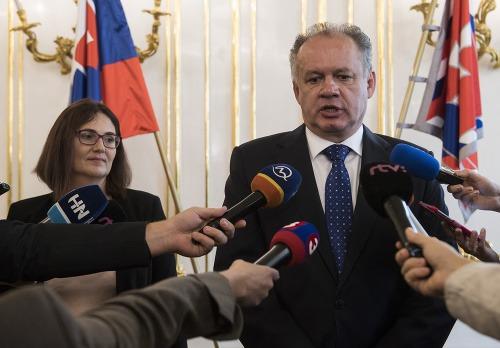 Na snímke kandidátka Slovenskej