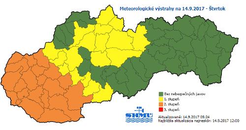 Túto časť Slovenska potrápi