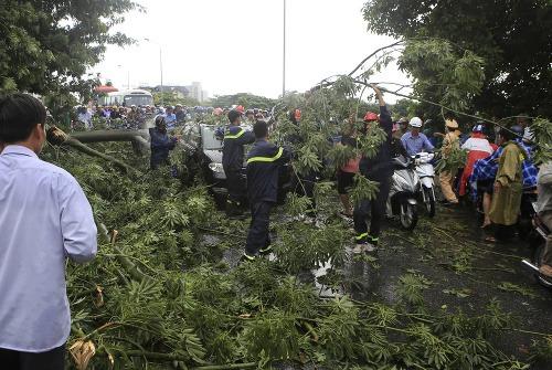 Do Vietnamu smeruje tajfún