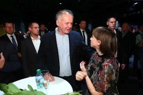 Andrej Kiska a Tereza