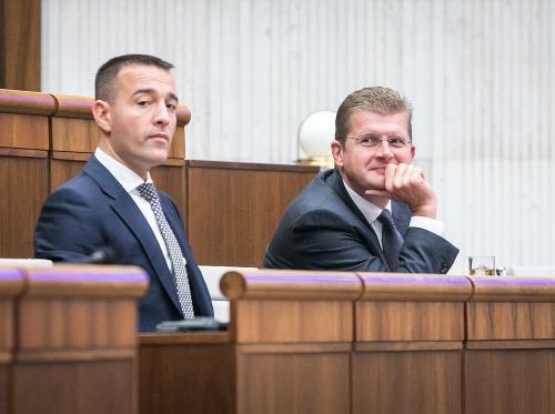 Tomáš Drucker a Peter