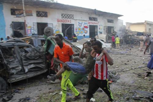 Výbuch v Mogadišu