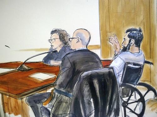 Sayfullo Saipov pred súdom