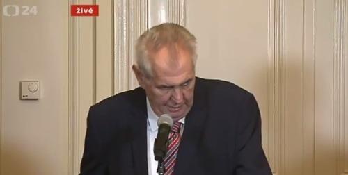 Miloš Zeman poveril Andreja