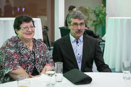 Milan Ftáčnik s manželkou