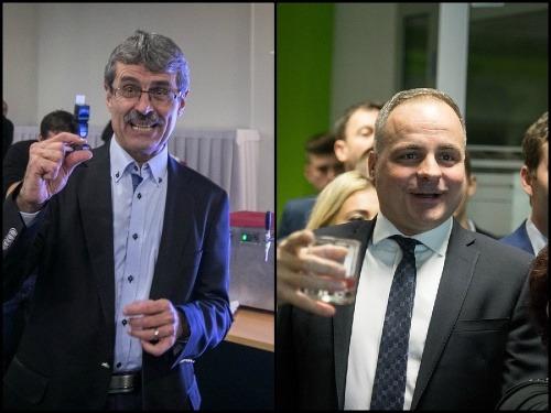 Milan Ftáčnik a Juraj