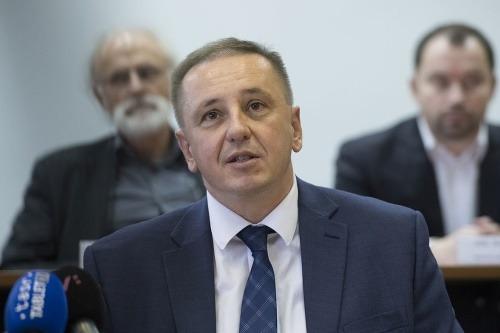 Na snímke predseda Štatistického