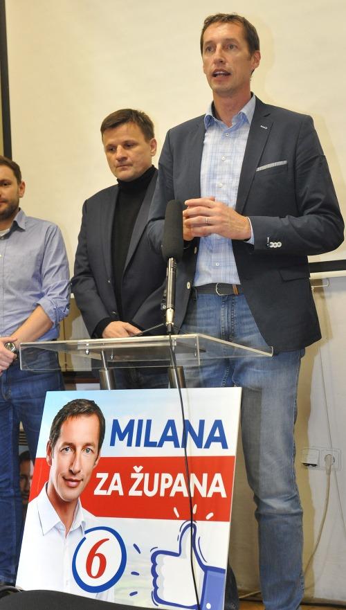Alojz Hlina s Milanom
