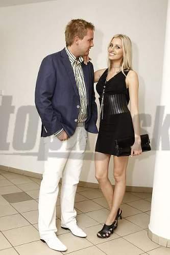 Libor Bouček a Denisa Mendrejová