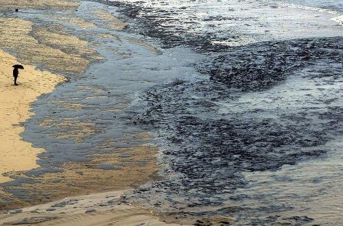 Najväčšia ekologická havária pri