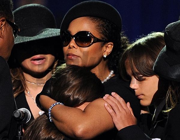 Janet Jackson s deťmi svojho brata