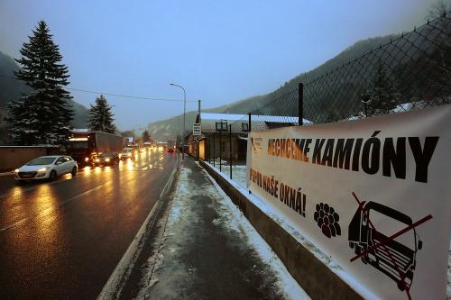 Liptáci a Oravci protestujú: