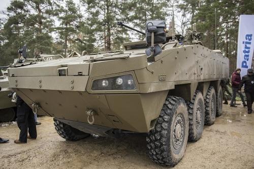 Obrnené vozidlo Patria BOV