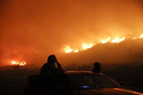 Požiare v Kalifornii