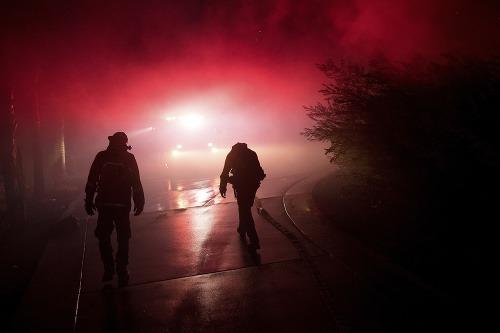 FOTO Požiare v južnej