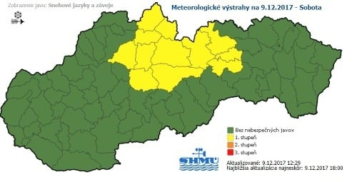 Na východe Slovenska bude