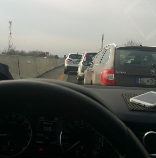 Dopravný kolaps na D1,