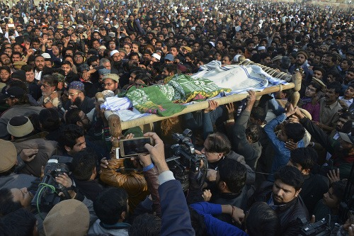 Obyvatelia Pakistanu sa búria.