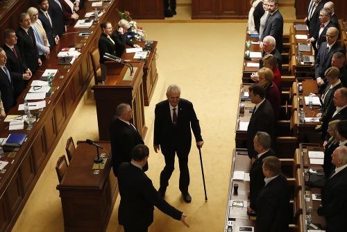 Miloš Zeman sa poslednej