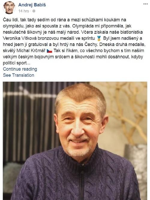 Andrej Kiska na otváracom