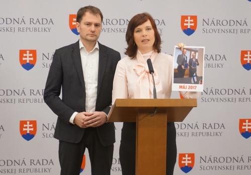 Igor Matovič a Veronika