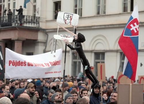 Protest v Košiciach