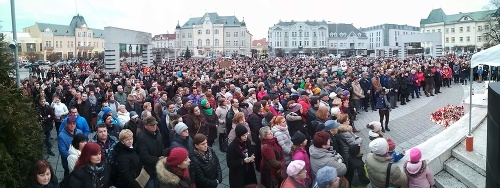 Protest v Leviciach