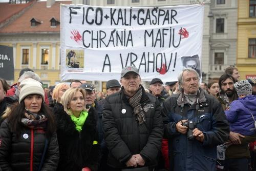Protest v Banskej Bystrici