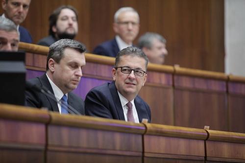 Andrej Danko a Martin